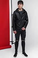 Куртка демисезонная с капишоном