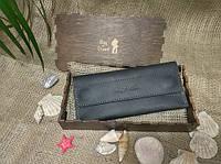 Кошелек (клатч) для женщин Bag-of-Dream BD501 (черный) ручная работа