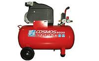 Компрессор поршневой Vpec=50л COSMOS 5020 220V CE ROSSO