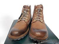 Ботинки мужские демисезонные Timberland р.40 кожа (сток)