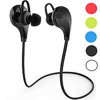 Наушники XY-BT-8280 Bluetooth влагоустойчивые с микрофоном для спорта черные