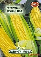 """Семена  кукурузы Сахарная, среднеспелая 100 г, """"Елiтсортнасiння"""", Украина"""