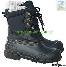 Утепленные сапоги резиновые Lemigo Польша (рабочая обувь) BLPIONIER B