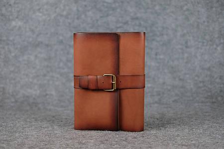 Обложка для ежедневника А5 с пряжкой |105123| Италия | Коричневый
