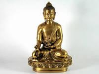 Статуя Будда Медицины из бронзы