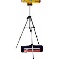 Рівень лазерний, 400 мм, 1050 мм штатив 3 вічка, набір (база, 2 лінзи) в пластиковому боксі// MTX