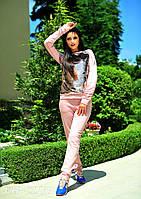 Женский спортивный костюм двунитка