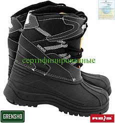 Утеплені черевики для рибалок Ries Польща (чоботи робочі зимові) BSNOW-FMN BP