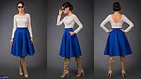 Платье (42-46) —гипюр неопрен купить оптом и в розницу в одессе  7км