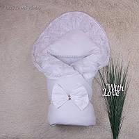 Зимний конверт-одеяло для новорожденного Волшебство