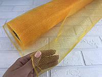 Сетка флористическая 900/50 см желтая