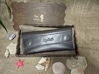 Кошелек (клатч) для женщин Bag-of-Dream BD501 (темно-коричневый) ручная работа