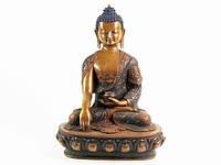 Будда Шакьямуни резьба с символами