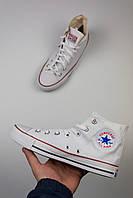 "Кеды Converse All Stars High ""White"", фото 1"