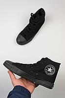 "Кеды Converse All Stars High ""Black"", фото 1"