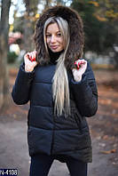 Куртка (42-44, 44-46, 46-48) — синтепон 200 купить оптом и в розницу в о