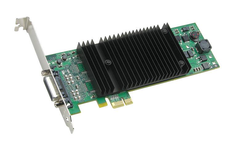 """Видеокарта Matrox Millennium P690 LP PCIe x1 (P69-MDDE128LA1F) """"Over-Stock"""" Б\У"""