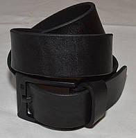 Ремень кожаный Massimo Dutti черный