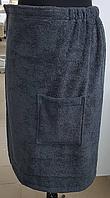 Парео для сауны 70/150 цвет серый
