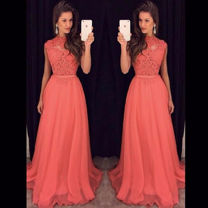 047f6d0376c Вечернее платье.Выпускное платье.Персиковое вечернее платье.Оранжевое выпускное  платье.Длинное платье