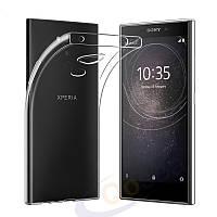 Ультратонкий 0,3 мм чехол для Sony Xperia L2 прозрачный