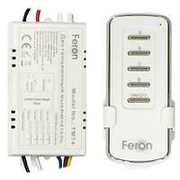 Дистанционный выключатель с пультом Feron TM74 4 линии