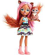 Кукла Энчантималс Белка Санча и бельченок Стампер / Enchantimals Sancha Squirrel Doll & Stumper, фото 3