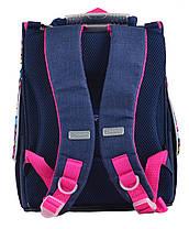 """Ранец ортопедический каркасный """"YES"""" MTY jeans H-11, 555184, фото 2"""