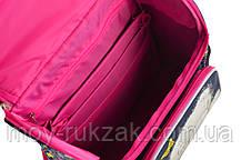 """Ранец ортопедический каркасный """"YES"""" MTY jeans H-11, 555184, фото 3"""