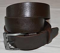 Ремень кожаный Massimo Dutti коричневый