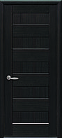 Дверное полотно Пиана глухое (Венге new / ПВХ DeLuxe)