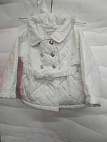 Демисезонная Куртка Белая 80 рост