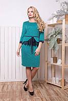 Платье женское с ангорой Барби (50-58р)