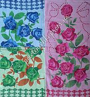 """Махровое полотенце 25х40""""Цветочки"""""""