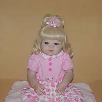 Кукла реборн 57 см полностью виниловая девочка Злата