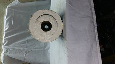 Скорлупа ППУ (пенополиуретан) без покрытия для теплоизоляции труб Ø 25/40 мм, фото 2