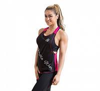 Майка для фитнеса Florida Stringer Tank Top Black/Pink, фото 1