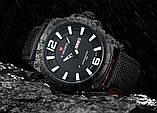 Мужские наручные кварцевые часы Naviforce NF9066-BWGY, фото 3