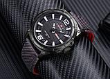 Мужские наручные кварцевые часы Naviforce NF9066-BWGY, фото 2