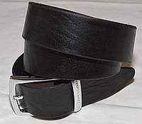 Кожаный ремень Paul & Shark черный