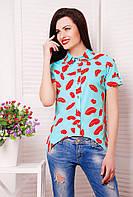 Блуза с принтом, фото 1