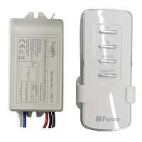 Дистанционный выключатель с пультом Feron TM72 2 линии + таймер отключения