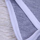 """Детский боди """"Енот"""" серый, 62, 68, 74 размер, фото 3"""