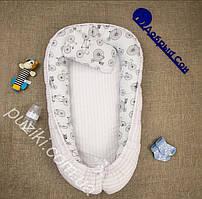 Позиционер двухсторонний для новорожденного с подушкой Велосипед, позиционеры для малышей оптом
