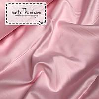 Сатин премиум нежно-розового цвета ширина 240 см № ПС-0017