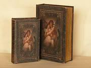Шкатулка из двух книг Влюблённые 33 см