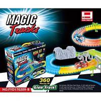 Гибкий трек magic track fyd170209-b (360 деталей, туннель) hn
