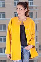 Модное пальто весна Д 100