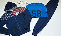 Спортивный костюм тройка для мальчика на рост 158-164 см