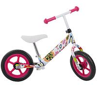 Детский беговел PROFI KIDS 12 д  с ева колесами M 3440W-3 FLOWERS***
